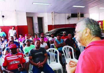 Sindicato se mobiliza para defender direitos dos trabalhadores do Frigorífico Xinguara de Cajamar